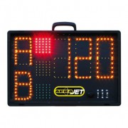 Afficheur électronique ARBAJET pour le score des compétitions d'arbalète field, par Quickness